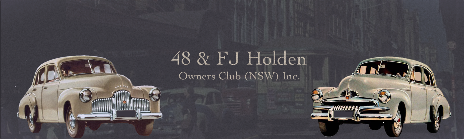 48 & FJ Holden Owners Club (NSW) Inc.